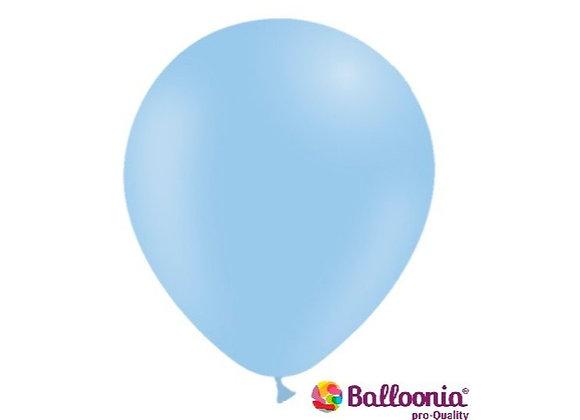"""5"""" Balloonia Matte Blue 100ct"""