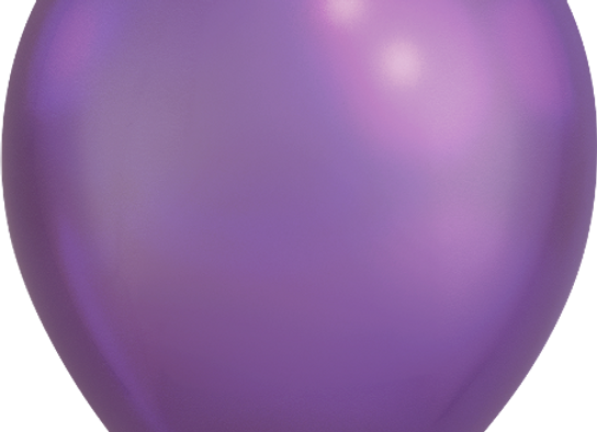 "11"" QLTX Chrome Purple 100ct"