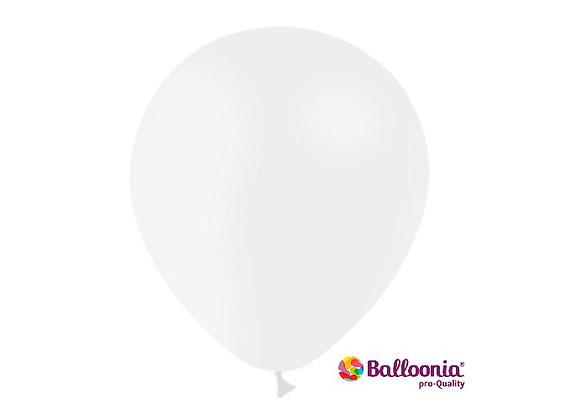 """12"""" Balloonia White 50ct"""