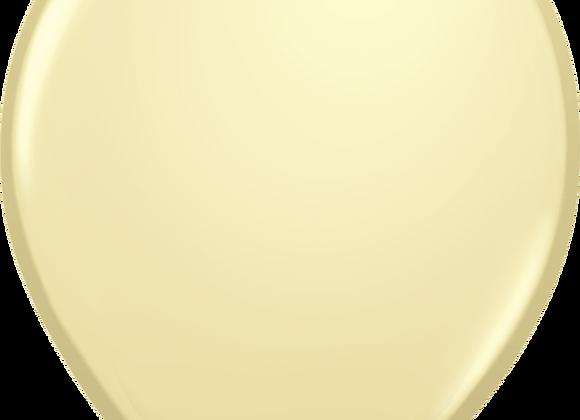 """5"""" QLTX Ivory Silk 100ct"""