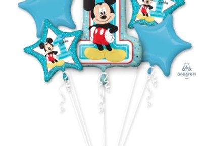 34341 - Mickey 1st Birthday Bouquet