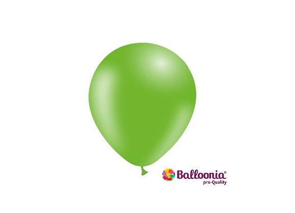 "5"" Balloonia Apple Green 100ct"