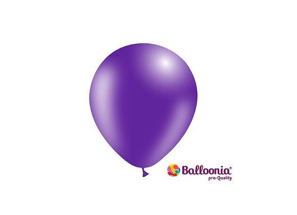 "5"" Balloonia Purple 100ct"