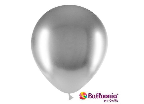 """12"""" Balloonia Brilliant Silver 25ct"""