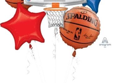 31651 - Spalding Basketball Bouquet