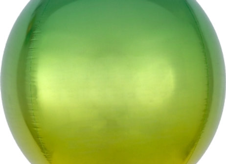 "39846 - 16"" Ombré Orbz® Yellow & Green"
