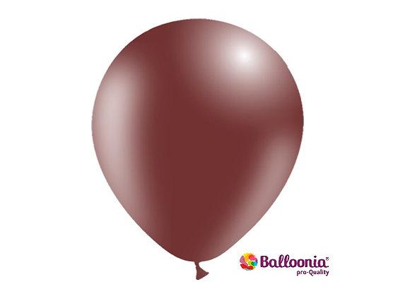 """12"""" Balloonia Chocolate 50ct"""