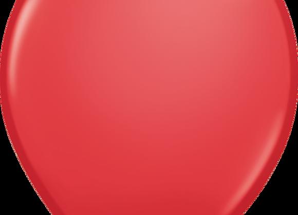 """5"""" QLTX Red 100ct"""