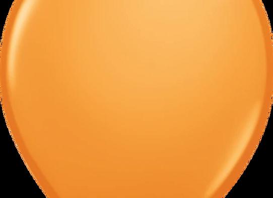 """11"""" QLTX Orange 100ct"""