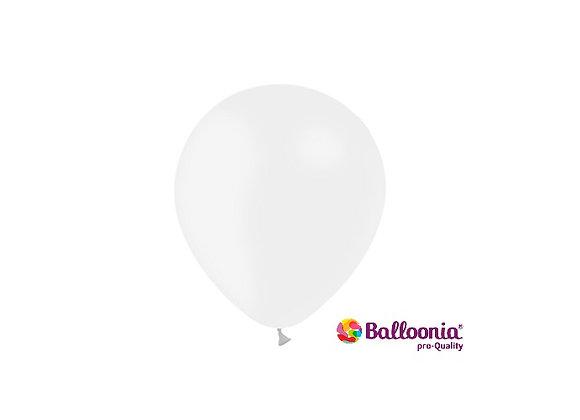 """5"""" Balloonia White 100ct"""