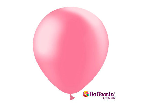 """12"""" Balloonia Metallic Pink 50ct"""