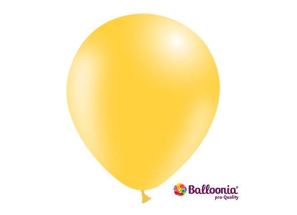 "12"" Balloonia Yellow 50ct"