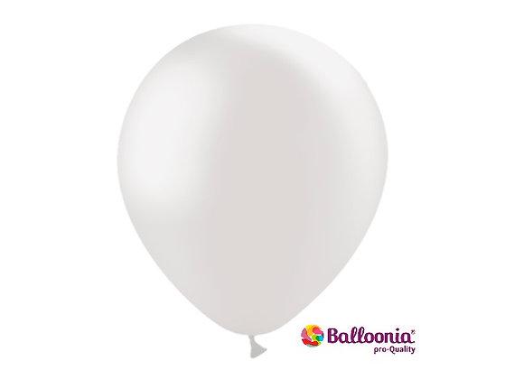 """12"""" Balloonia Metallic Pearl 50ct"""