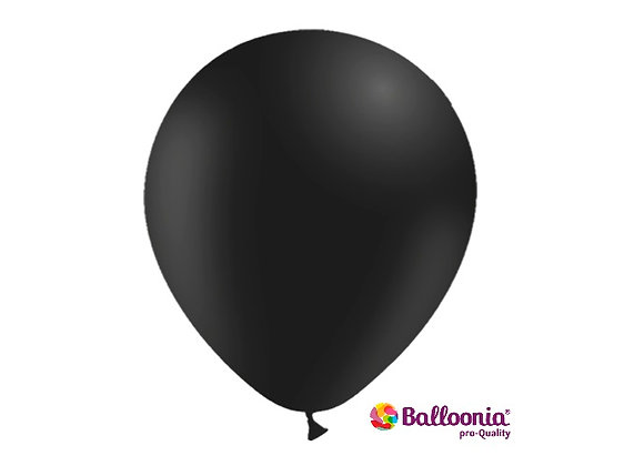 "12"" Balloonia Black 50ct"