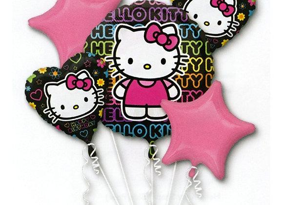 35145 - Hello Kitty Black Bouquet