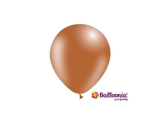 "5"" Balloonia Brown 100ct"