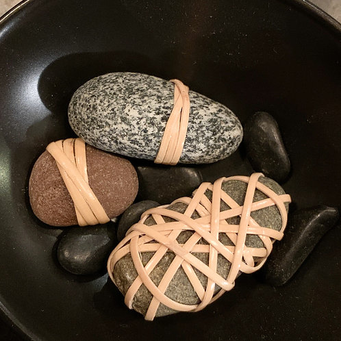 3 X-Small Assorted Wrapped Rockz