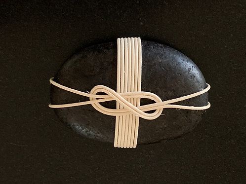 Wind Knot Wrapped Rock