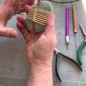Time Lapse - Stick Wrapped Rock