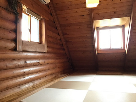 コテージ 2階 寝室
