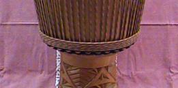 Lingue wood Djembe