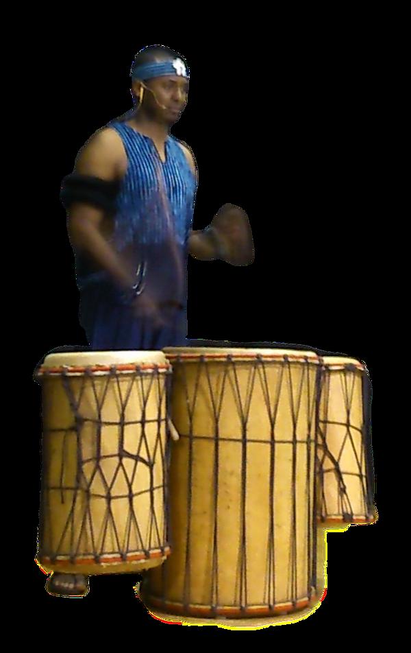 African Doundoun drummer