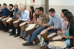 Weekly drumming class