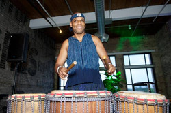 African music percussionist