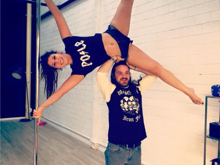 Pole dancing for fun and fitness: shaking off the taboos!