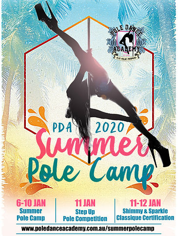 POLE DANCE ACADEMY SUMMER POLE CAMP squa