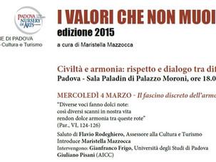 I VALORI CHE NON MUOIONO - 2015