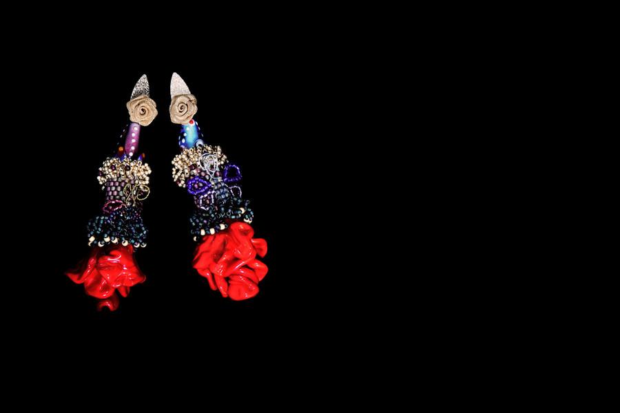 Murano Rose Earrings.jpg