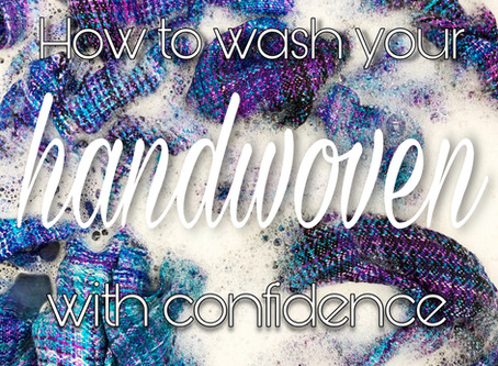Washing Your Handwoven Wrap