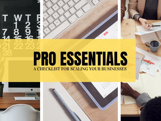 Pro Essentials..