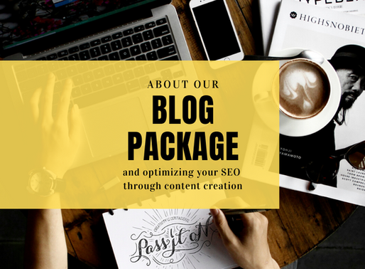 The Blog Package..