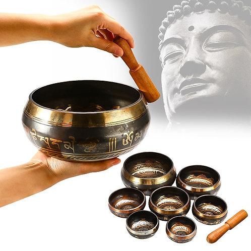 Tibetan Singing Bowl Meditation Bell Sacred Dharma Monks Lama Nepal YogaHealing