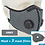 Thumbnail: Cycling Mask Activated Carbon Filter Respirator PM2.5  Protective