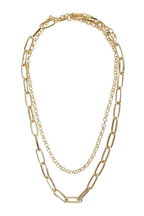 Hdn2973 - Multiline Chain Necklace