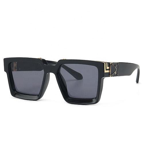 Instagram Millionaire Style Sunglasses Square for M/W Fancy UV400 Gafas De Sol