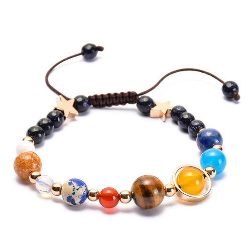 You Are the Center of My World, I Am Spinning Around You,  Sun Beads Bracelet