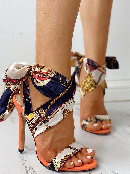 Heeled-Sandals Woman High Heel Pumps Shoes Fashionable High Heeled Shoes