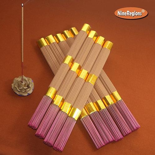 61pcs Natural Sandalwood Joss Sticks Incense Buddhist Temple Mild Resin Worship