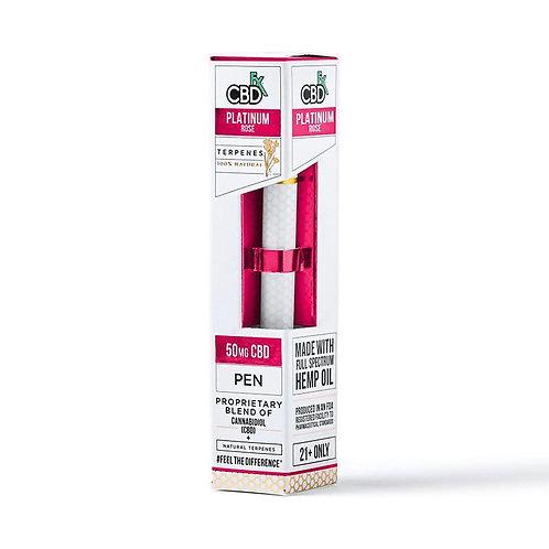 CBDfx - CBD Terpenes Vape Pen - Platinum Rose - 50mg