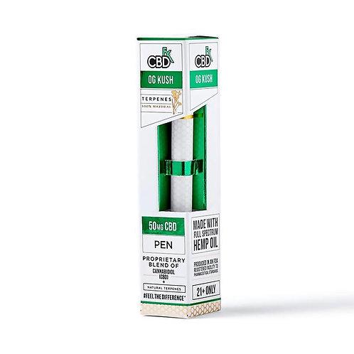 CBDfx - CBD Terpenes Vape Pen - OG Kush - 50mg