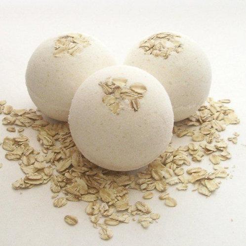 Oatmeal Vanilla Bath Bomb