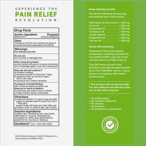 CBDMEDIC - CBD Topical - Arthritis Aches & Pain Relief Cream