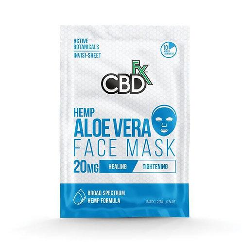 CBDfx - CBD Face Mask - Aloe Vera - 20mg