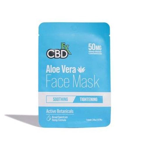 CBDfx - CBD Face Mask - Aloe Vera - 50mg