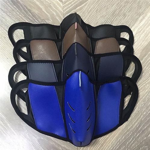 Luxury Real Leather Mask Face Masks Luxury Mascarilla  Reuseable Washable