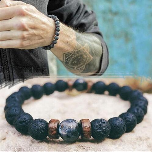 Bracciali Natural Stone Beads  Bracelete Hombre Bracciale Armbanden